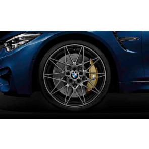 BMW Alufelge M Sternspeiche 666 transl. shadow 10J x 20 ET 40 Hinterachse M3 F80 M4 F82 F83