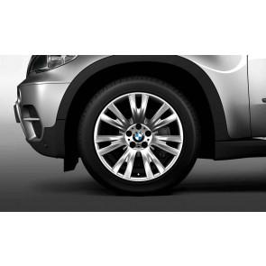 BMW Alufelge M V-Speiche 223 silber 9J x 19 ET 37 Vorderachse X5 E70