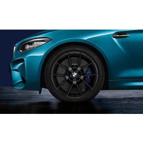 BMW Kompletträder M Performance Y-Speiche 763 schwarz matt 19 / 20 Zoll M3 F80 M4 F82 F83 RDCi (Mischbereifung)
