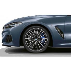 BMW Alufelge M Vielspeiche 729 orbitgrey 8J x 20 ET 26 Vorderachse 8er G14 G15 G16