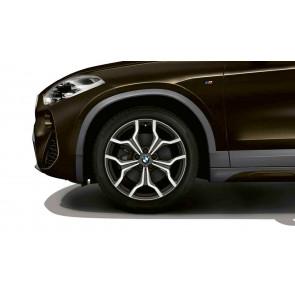 BMW Alufelge M Y-Speiche 722 bicolor (orbitgrey / glanzgedreht) 8J x 19 ET 47 Vorderachse / Hinterachse X2 F39