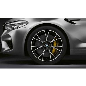 BMW Alufelge M Y-Speiche 789 bicolor (schwarz / glanzgedreht) 10,5J x 20 ET 28 Hinterachse M5 F90