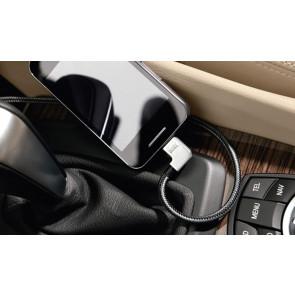 BMW Micro-USB-Adapter für MP3 Player, Smartphone, etc. mit Micro USB Geräteanschluss