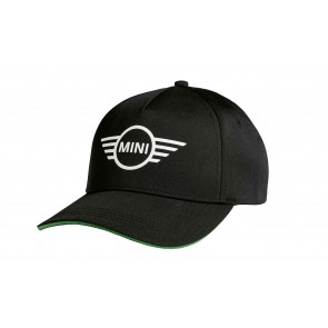 MINI Cap Contrast Edge Wing Logo