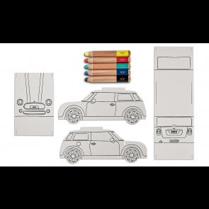 MINI Bastel- und Malset Auto