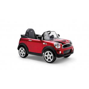 Mini Cooper S Cabrio Red, Electro Car