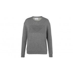 MINI Damen Sweatshirt Embossed Wing Logo