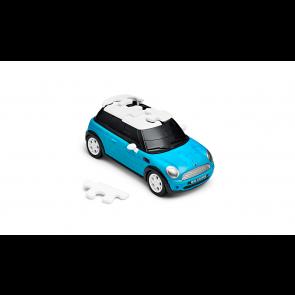 MINI 3D Puzzle Car blau