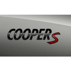 MINI Schriftzug Cooper S F54 F55 F56 F57 F60