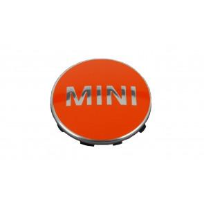 MINI Nabenabdeckung 4-tlg. Satz orange F54 F55 F56 F57 F60