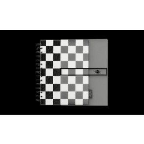 Notizbuch Checkered