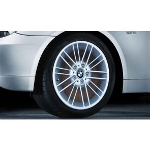 BMW Kompletträder Parallelspeiche 85 silber 17 Zoll 3er E36 E46 Z3 E36