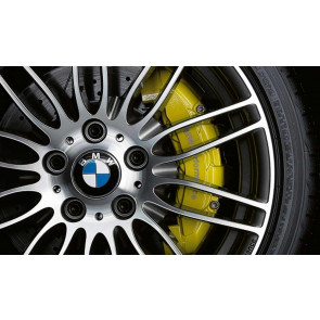 BMW Performance Bremsanlage (Vorderachse und Hinterachse) mit BMW Performance Bremsscheibe gelocht und genutet für BMW 1er E82 E88