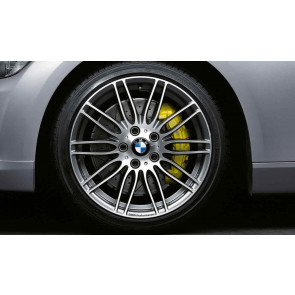 BMW Alufelge Performance Doppelspeiche 269 bicolor (ferricgrey / glanzgedreht) 9,5J x 19 ET 32 Hinterachse 5er E60