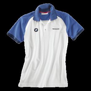BMW Poloshirt Logo, Herren, weiß