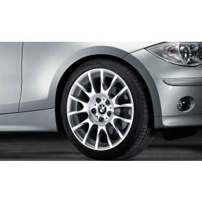 BMW Alufelge Radialspeiche 216 8J x 18 ET 34 Silber Vorderachse BMW 3er E90 E91 E92 E93