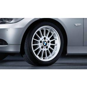 BMW Alufelge Radialspeiche 32 silber 7J x 16 ET 34 Vorderachse / Hinterachse 3er E90 E91 E92 E93