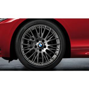BMW Winterkompletträder Radialspeiche 388 ferricgrey 18 Zoll 1er F20 F21 2er F22 F23