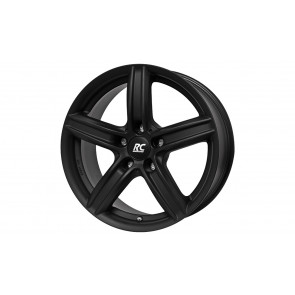 RC-Design Winterkompletträder RC21 schwarz klar matt 18 Zoll 3er F30 F31 4er F32 F33 X1 E84