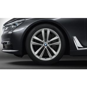 BMW Winterkompletträder Doppelspeiche 630 ferricgrey 19 Zoll 6er G32 7er G11 G12 RDCi