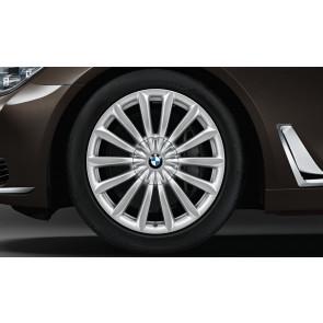 BMW Winterkompletträder V-Speiche 620 reflexsilber 19 Zoll 6er G32 7er G11 G12 RDCi