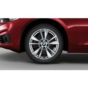 BMW Winterkompletträder Doppelspeiche 476 reflexsilber 16 Zoll 2er F45 F46 RDCi