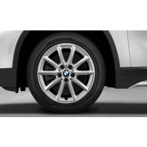 BMW Alufelge V-Speiche 560 silber 7,5 J x 17 ET 52 Vorderachse / Hinterachse X1 F48 X2 F39
