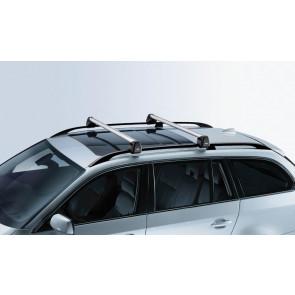BMW Grundträger, abschließbar 3er E91 Touring mit Dachreling