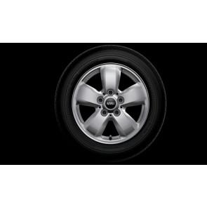 MINI Winterkompletträder Revolite Spoke 517 silber 16 Zoll F54 RDCi