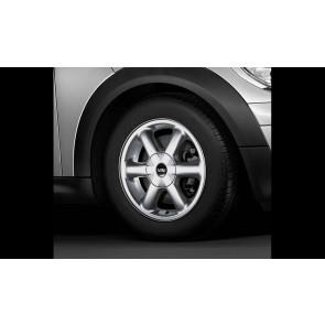 MINI Alufelge Rotator Spoke 101 silber 5,5J x 15 ET 45 Vorderachse / Hinterachse R50 R52 R55 R56 R57