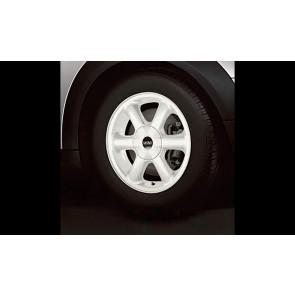 MINI Alufelge Rotator Spoke 101 weiß 5,5J x 15 ET 45 Vorderachse / Hinterachse R50 R52 R55 R56 R57