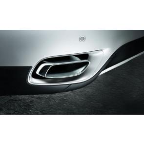 BMW Endrohrblende Chrom X6 E71 (30dX, 40dX) 8-Zylinder Optik