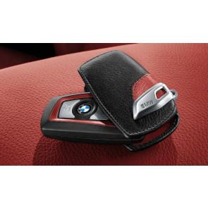 BMW Schlüsseletui Sport Line schwarz/rot