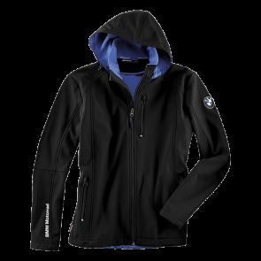 BMW SoftShell-Jacke Logo, Herren, schwarz