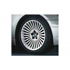 BMW Alufelge Speichenstyling 176 9J x 19 ET 24 Silber Vorderachse BMW 7er E65 E66