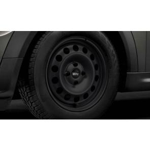 MINI Stahlfelge Styling 12 schwarz 5,5J x 15 ET 45 Vorderachse / Hinterachse R50 R52 R55 R56 R57 R58 R59