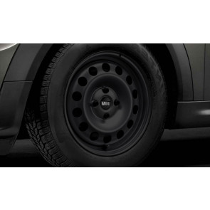 MINI Winterkompletträder Stahlrad 12 schwarz 15 Zoll MINI F55 F56 F57 RDCi
