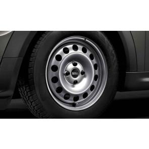 MINI Stahlfelge Styling 12 silber 5,5J x 15 ET 45 Vorderachse / Hinterachse R50 R52 R55 R56 R57 R58 R59
