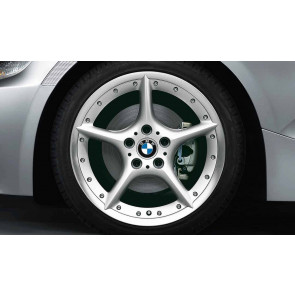 BMW Alufelge Sternspeiche 108 silber 8,5J x 18 ET 50 Hinterachse Z4 E85 E86