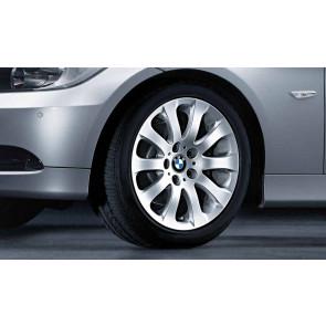 BMW Winterkompletträder Sternspeiche 159 silber 17 Zoll 3er E90 E91 E92 E93