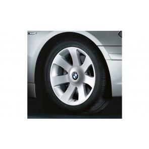 BMW Alufelge Sternspeiche 175 8J x 18 ET 24 Silber Vorderachse / Hinterachse BMW 7er E65 E66 E68