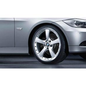 BMW Alufelge Sternspeiche 179 8J x 19 ET 37 Silber Vorderachse BMW 3er E90 E91 E92 E93