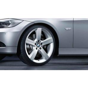 BMW Kompletträder Sternspeiche 199 silber 19 Zoll 3er E90 E91 E92 E93