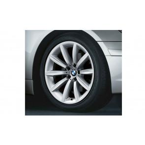 BMW Alufelge Sternspeiche 231 9J x 19 ET 24 Silber Vorderachse BMW 7er E65 E66 E68
