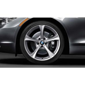 BMW Winterkompletträder Sternspeiche 276 reflexsilber 17 Zoll Z4 E89 RDC LC