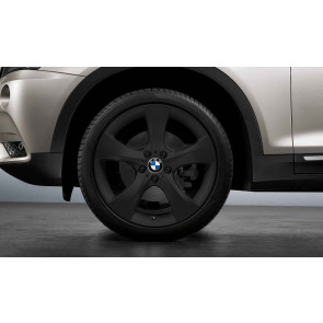 BMW Kompletträder Sternspeiche 311 schwarz matt 20 Zoll X3 F25 X4 F26
