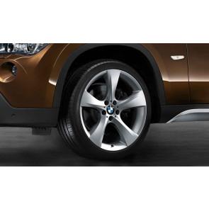 BMW Alufelge Sternspeiche 311 silber 9J x 19 ET 41 Hinterachse X1 E84