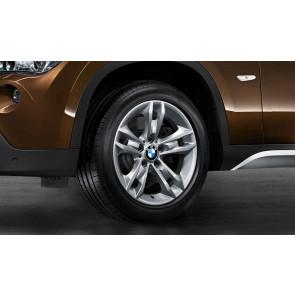 BMW Alufelge Sternspeiche 319 reflexsilber 7,5J x 17 ET 34 Vorderachse / Hinterachse X1 E84