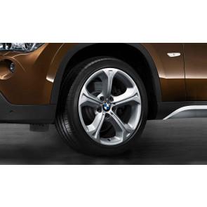 BMW Kompletträder Sternspeiche 320 silber 18 Zoll X1 E84