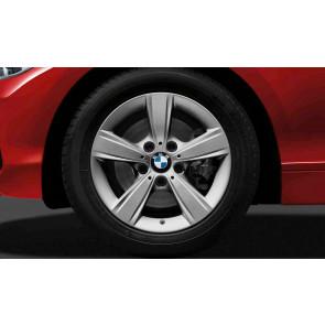 BMW Kompletträder Sternspeiche 376 reflexsilber 16 Zoll 1er F20 F21 2er F22 F23 RDCi
